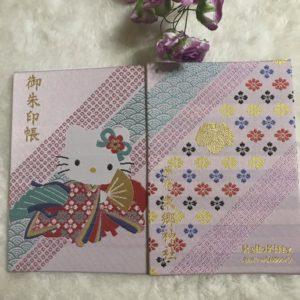 ハローキティ御朱印帳東郷神社